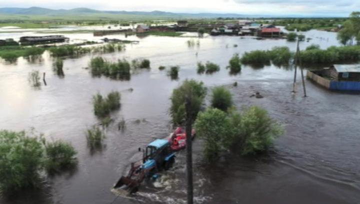 Паводок подтопил села и дачные кооперативы в окрестностях Читы
