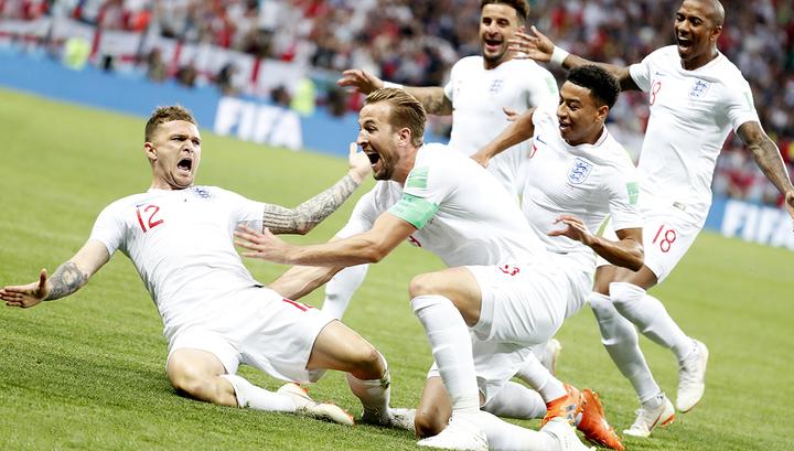 Сборная Англии победила хорватов и вышла в финальный турнир Лиги наций