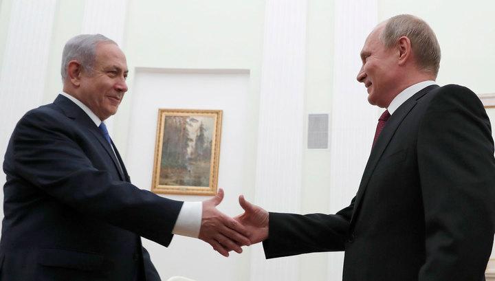 Лидеры России и Израиля обсудят ситуацию на Ближнем Востоке