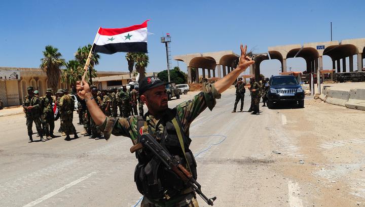 Сирийские ПВО в Дамаске атаковали вторгшийся в воздушное пространство объект