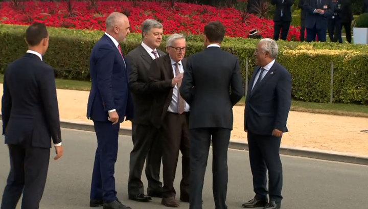 МИД РФ о выступлении Порошенко на саммите НАТО: