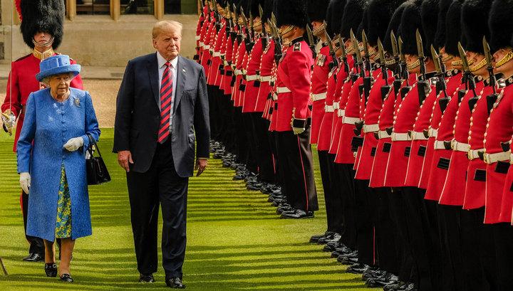 Визит Дональда Трампа в Британию: итоги и конфузы