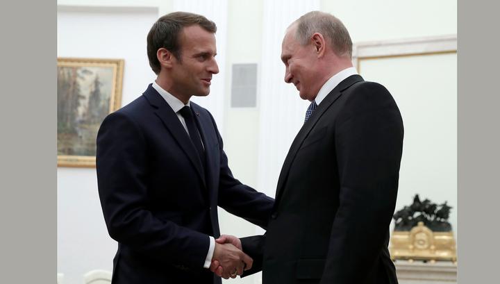 Путин: российско-французские связи разморожены
