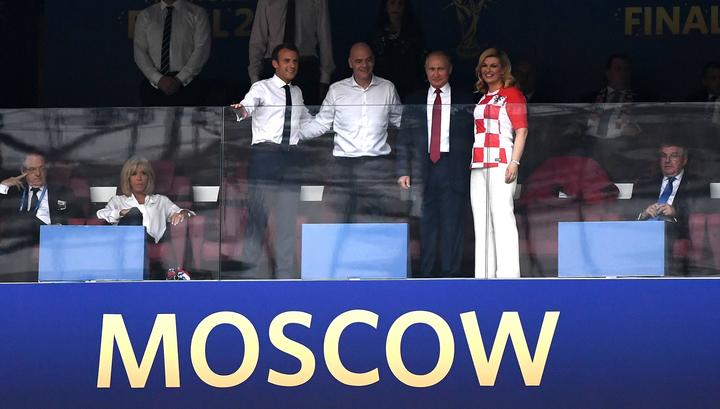 Путин пообщался в