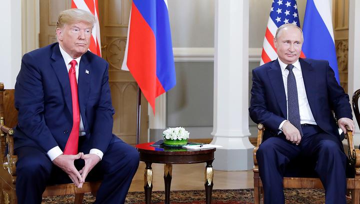 Перед беседой тет-а-тет Путин и Трамп раскрыли карты