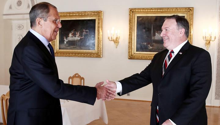 Лавров и Помпео поговорили о Бутиной, КНДР и Сирии