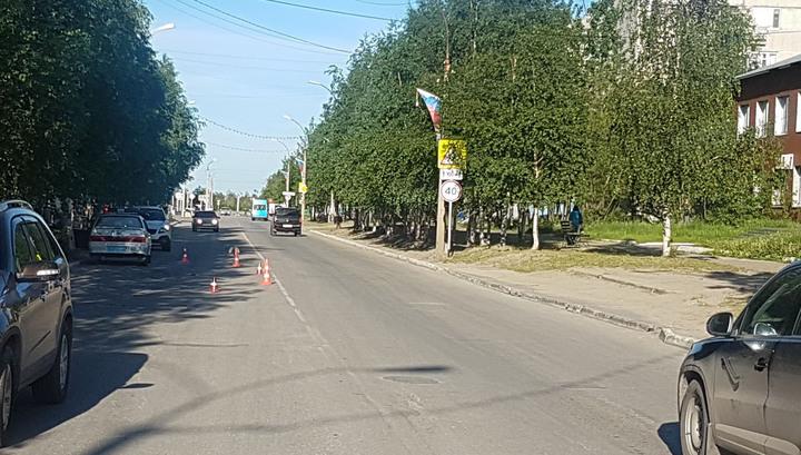 Кроссовер переехал игравшую на дороге девочку в Коми