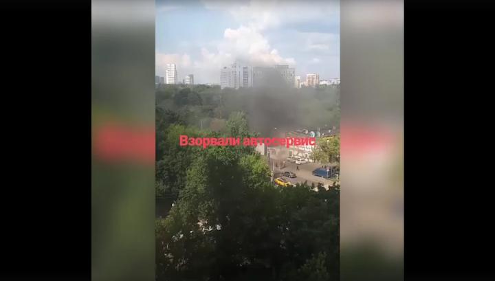 В московском кафе взорвался газ. Пострадали 18 человек