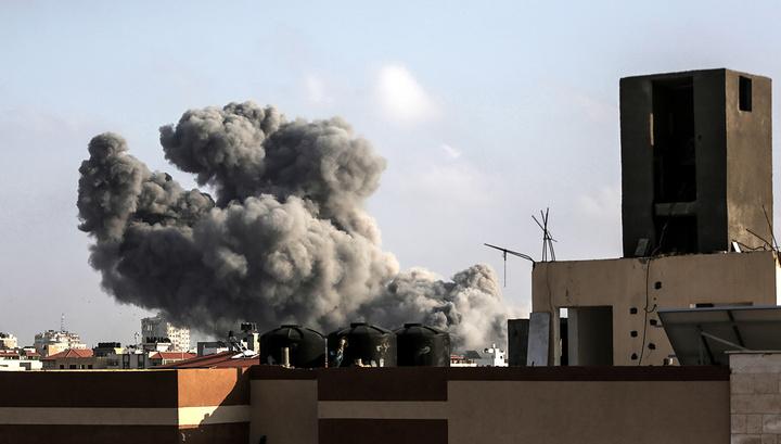 Израильские ВВС устроили масштабный налет на ХАМАС