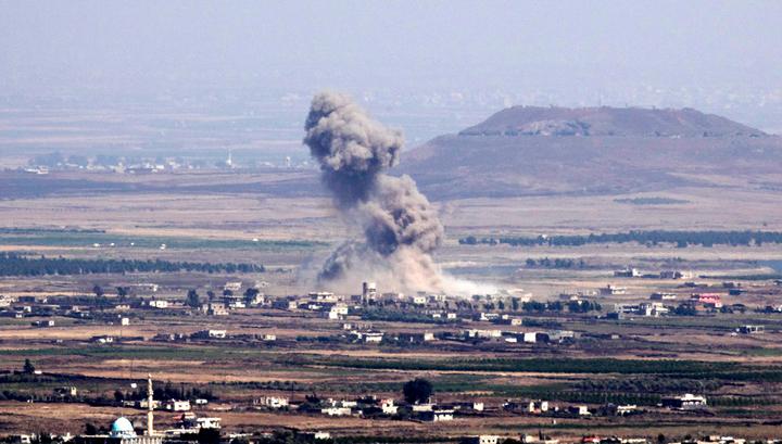 Боевики выпустили четыре снаряда в направлении российской базы Хмеймим