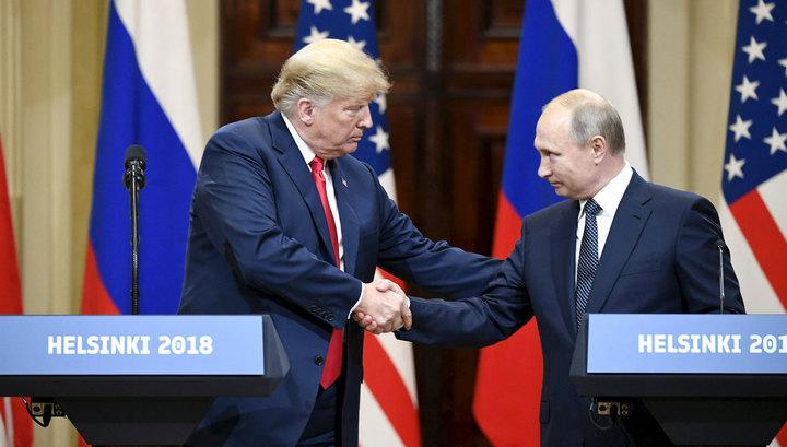 Встреча Путина и Трампа: как это было