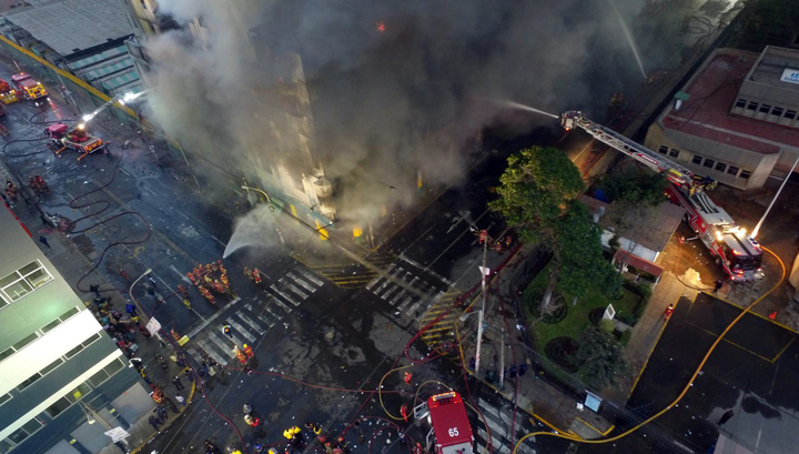 В больнице Лимы прогремели два взрыва: 20 человек ранены