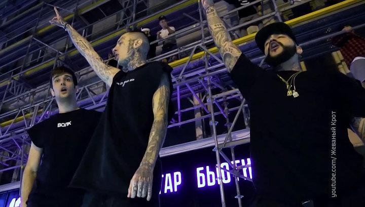 Искусство или хулиганство? Творчество Тимати и Егора Крида оценит полиция