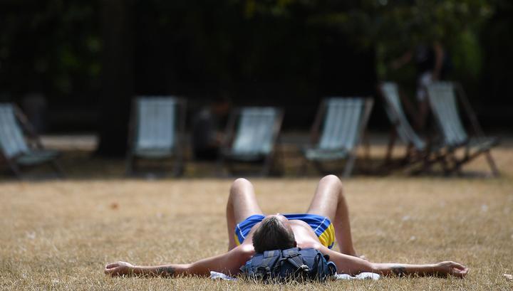 Аномальная жара сохраняется в Европе