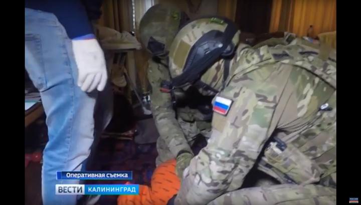 Задержание вербовщиков ИГ в Калининграде. Эксклюзивные кадры