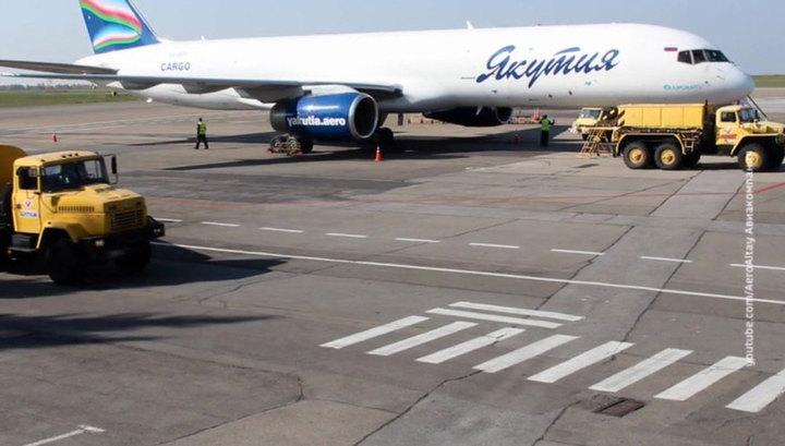 """Рейсы авиакомпании """"Якутия"""" из Благовещенска задержали на сутки из-за отсутствия самолета"""