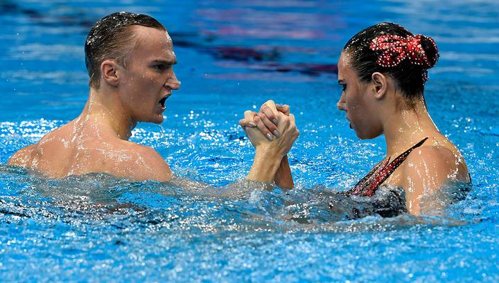Синхронисты Мальцев и Гурбанбердиева завоевали золото чемпионата мира