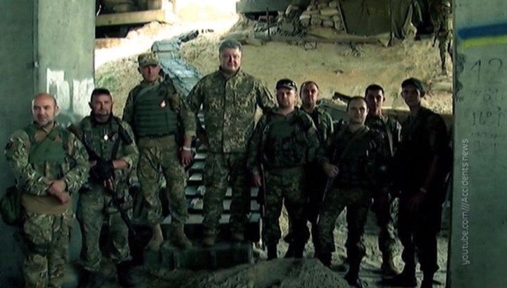 Порошенко внедряет в украинскую армию идеологию бандеровщины
