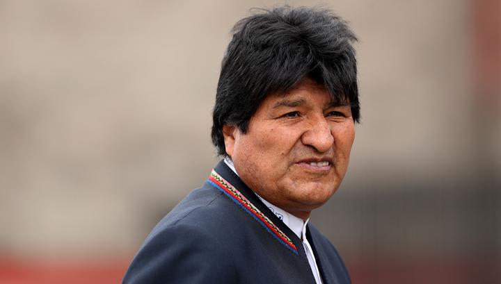 Моралес согласился на новые выборы