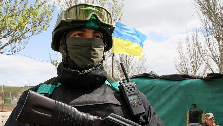 Украинских военных подозревают в подготовке провокации