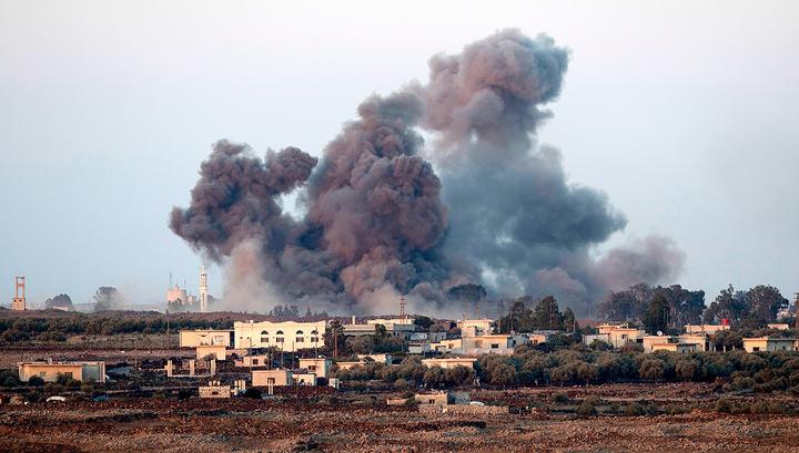 Израиль атаковал базу ВВС Сирии