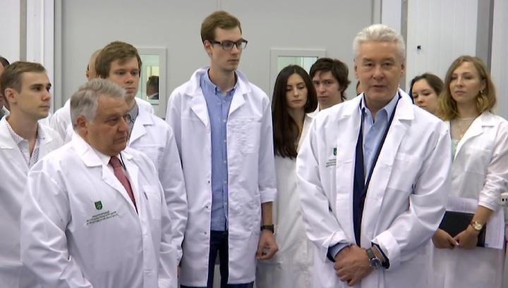 Сергей Собянин посетил Курчатовский институт
