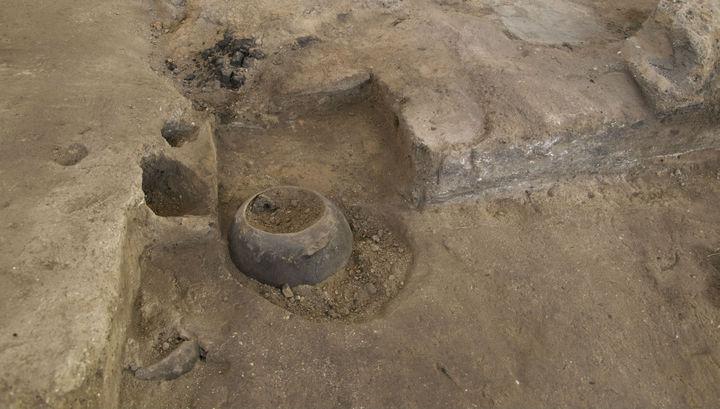 Место археологических раскопок в Чатал-Хююк.