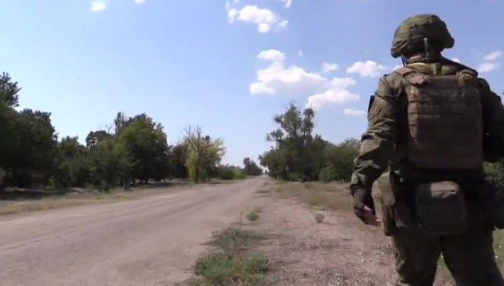 Украинская артиллерия обстреляла конвой Красного Креста под Донецком