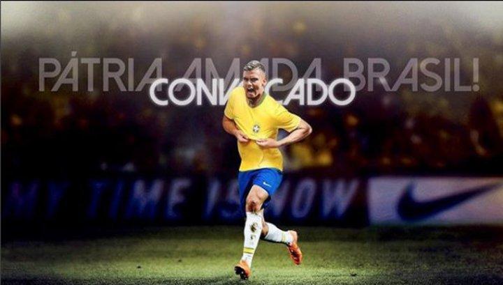 В сборную Бразилии впервые за 100 лет вызван игрок из другой страны
