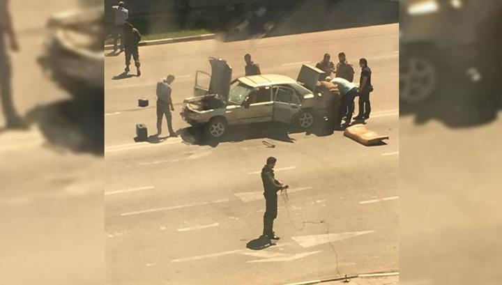 Полицейский пал жертвой серии нападений бандитов на посты ДПС в Чечне