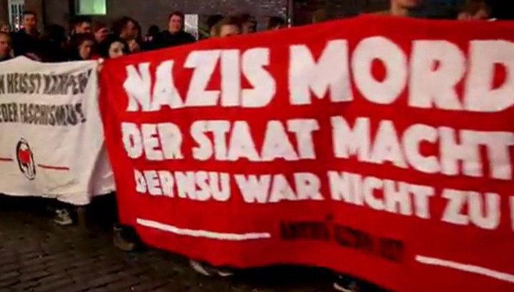 В Германии вслед за ультраправыми на улицы вышли антифашисты