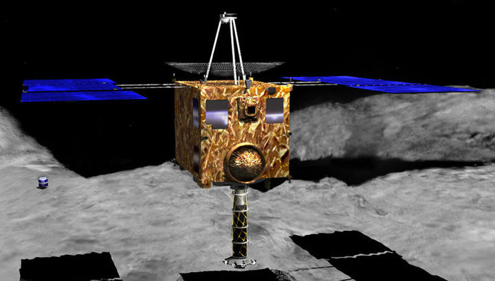 """""""Хаябуса-1"""" впервые доставил на Землю вещество астероида и подарил учёным ключ к пониманию истории этих космических глыб."""