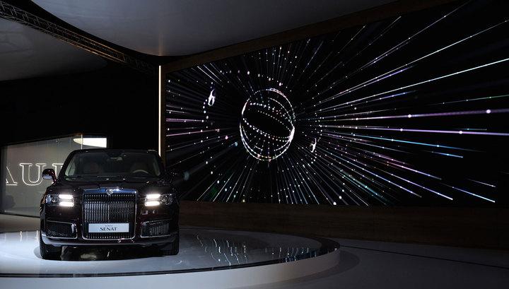 На автосалоне в Женеве весной 2019 года покажут седан и лимузин Aurus