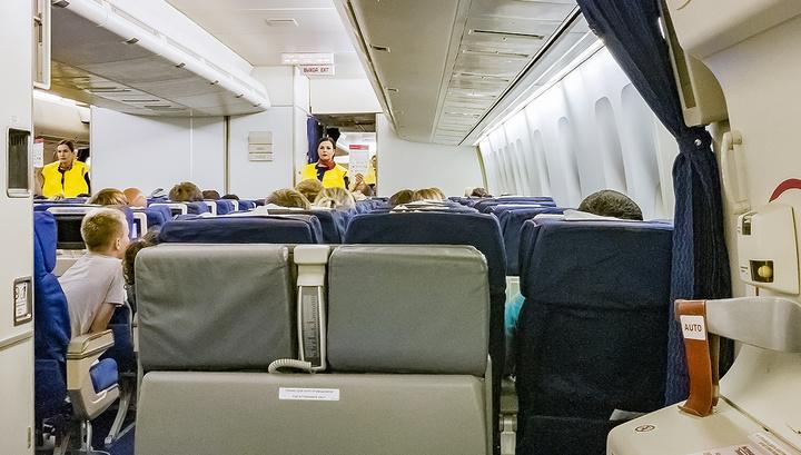 Уральца в самолете избили две женщины