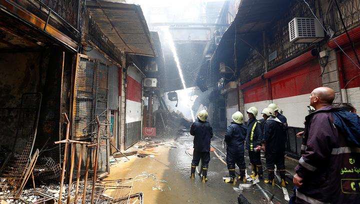 Короткое замыкание стало причиной взрывов под Дамаском