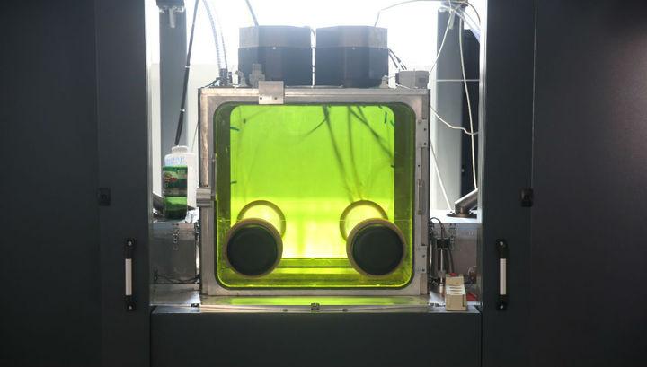 Устройство имеет два лазера и может работать с двумя разными материалами одновременно.