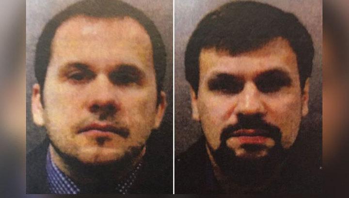 Британия назвала имена подозреваемых в отравлении Скрипалей