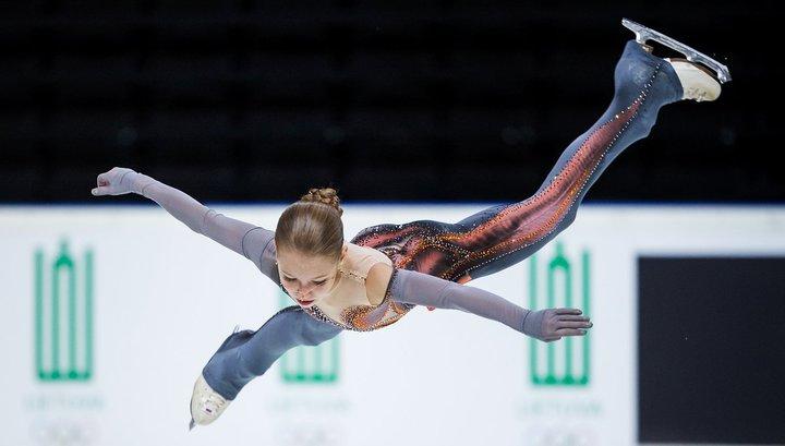 Трусова перепрыгала Медведеву на Гран-при фигуристов в Москве