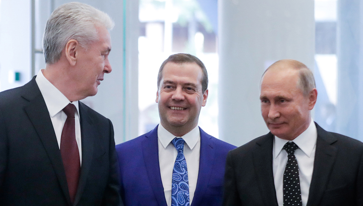 """Путин поздравил москвичей с Днем города на открытии КЗ """"Зарядье"""""""