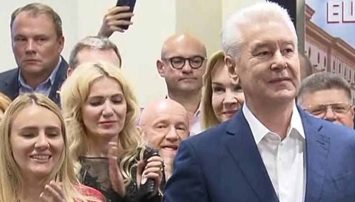 ЦИК: Сергей Собянин одержал победу на выборах мэра Москвы