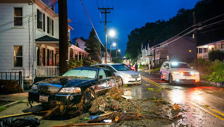 """Еще одна жертва урагана """"Флоренс"""": 77-летнего мужчину унесло ветром"""
