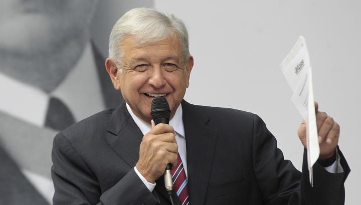 Избранный президент Мексики пригласил Владимира Путина на свою инаугурацию