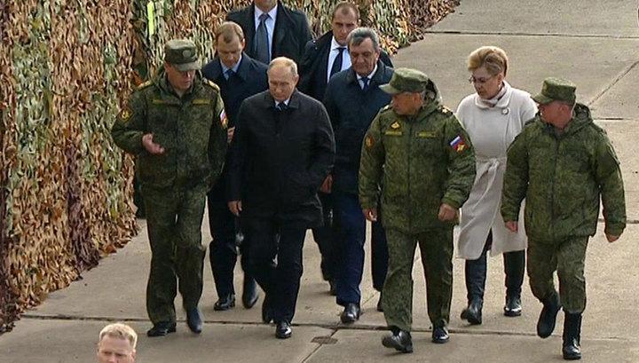"""Владимир Путин прибыл на учения """"Восток-2018"""""""