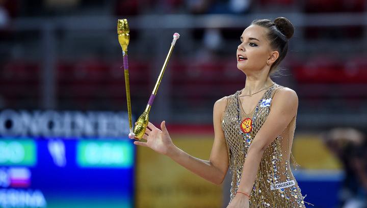 Гимнастка Дина Аверина выиграла четвертое золото чемпионата мира