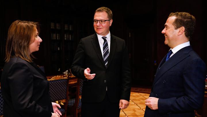 Осипов стал пресс-секретарем Медведева вместо Тимаковой