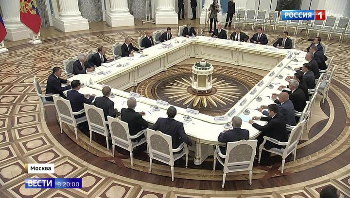 Президент напутствовал новых глав регионов