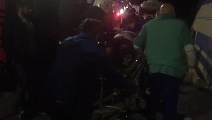 Столкновение автобусов под Воронежем: число жертв растет