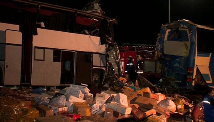 Столкновение автобусов под Воронежем: очевидцы рассказали о смертельном ДТП