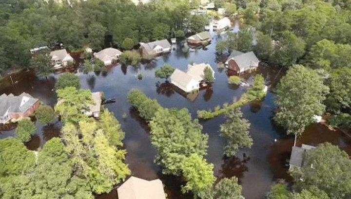 """Количество жертв урагана """"Флоренс"""" в США превысило 30 человек"""