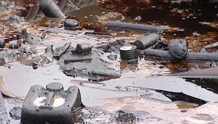 Патрушев нашел экологическую бомбу под Петербургом
